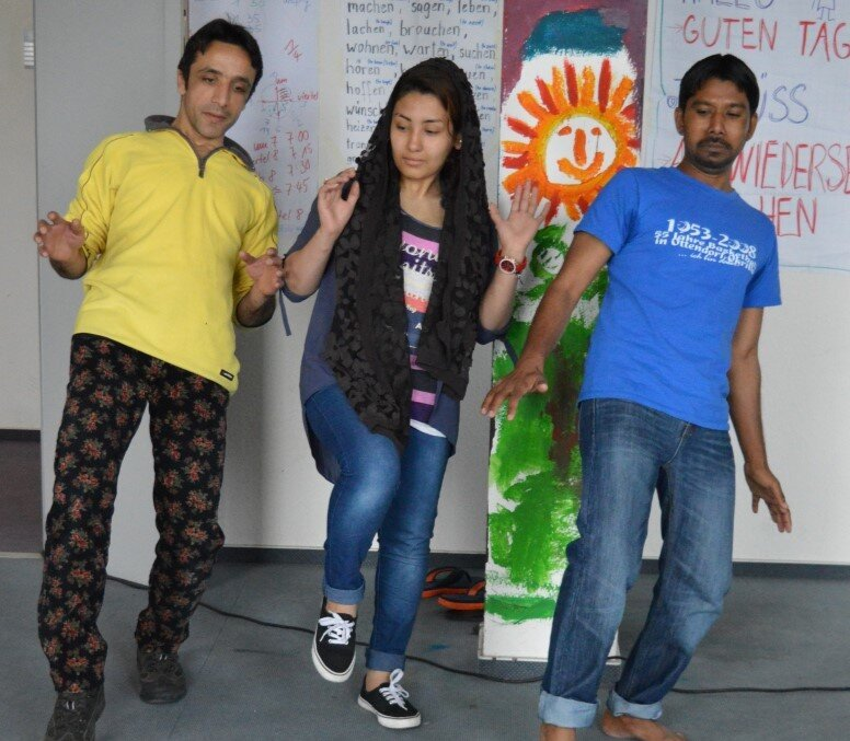 Performances with Refugees, picture 1